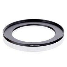 Oryginalny RISE (UK) 72mm 95mm 72 95mm 72 do 95 pierścień redukcyjny adapter do filtra czarny