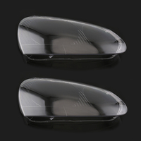 1 Pair Car Headlight Lenses Cover Car Light Lens Headlamp Cover Case For Volkswagen Golf 5