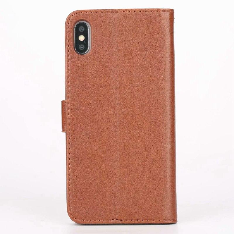 Luxe Lederen Flip Case Voor Coque Iphone 12 Mini 11 Pro X Xr Xs Max 6 6S 7 P 8 Plus 5 S Se 2020 Beschermende Telefoon Shell Cover 2