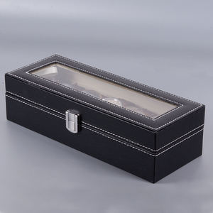 Image 4 - BOBO BIRD PU Leather Display Case Box Watch Jewelry Storage Organizer 6 Slot 10 Slots saat kutusu