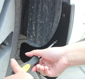 Image 4 - עבור מאזדה 3 BK סדאן סלון 2004 2005 2006 2007 2008 2009 רכב Mudflaps פנדר דש Splash דשים מגני בץ אביזרים