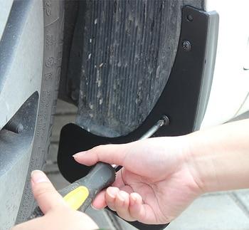 Coche Mudflap para Land Rover Discovery 4 LR4 2010 ~ 2016 L319 guardabarros guardia de barro solapas guardabarros 2011 accesorios 2012 2013, 2014, 2015,