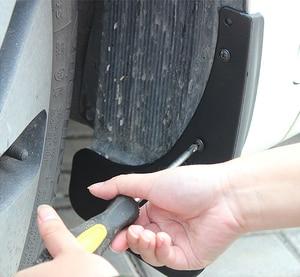 Image 4 - Автомобильный брызговик для Hyundai Accent Solaris RB 2011 ~ 2016, брызговик, щитки от грязи для Hyundai Accent 2012 2013 2014 2015