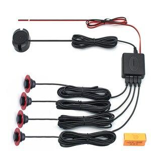 Image 3 - Оригинальный плоский датчик 13 мм s, регулируемая глубина 16 мм, система помощи при парковке автомобиля, резервный радар, зуммер, система для заднего и переднего бампера