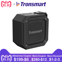 Tronsmart Groove Bluetooth Speaker Column Mini SoundBox Portable Speakers IPX7 Waterproof for Computer With 24 Hour Playtime