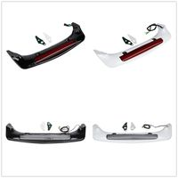 Four Colors Available ABS Trunk Spoiler LED Red Rear Brake Light For Honda Goldwing GL1800 01