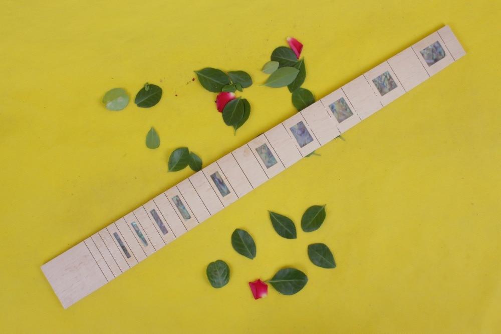 Guitar Accessories 1 x  25.5electric   Guitar Fretboard electric guitar maple  Fretboard Parts 00-55# inlay guitar accessories 1 x 25 5electric guitar fretboard electric guitar maple fretboard parts 00 50 inlay
