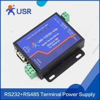 Q062 USR-TCP232-410S Terminal Alimentation RS232 RS485 à TCP/IP Convertisseur Série Ethernet Serveur de Périphérique Série