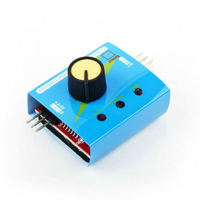 Multi RC Digital ESC Servo Tester 3CH
