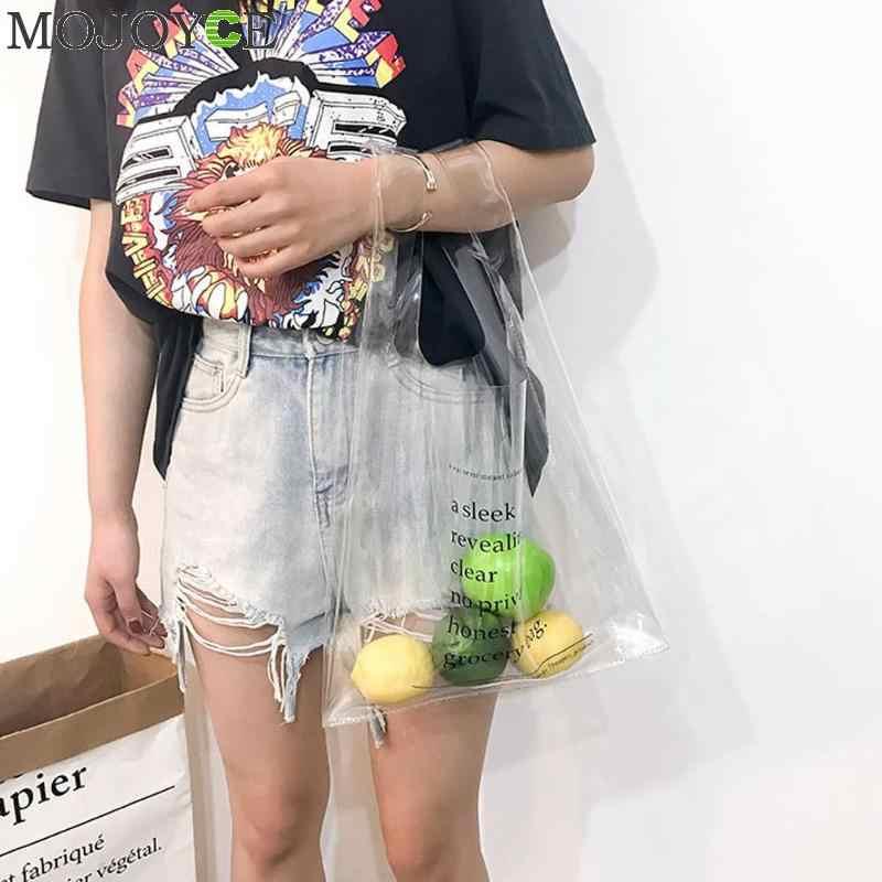 81b8fa8e152c ... Модные голографические сумки для обувь девочек ясно ПВХ сумочка клатч  откровенный Прозрачный Красочный кошелек Письмо Горячие ...