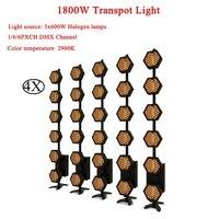 4 sztuk/partia dobrze zrobione dekoracyjna lampa 6x300W Transpot światła DJ światła dyskotekowe domu ogród gwiazdka lekki dekoracja wnętrz oświetlenie sceniczne w Oświetlenie sceniczne od Lampy i oświetlenie na