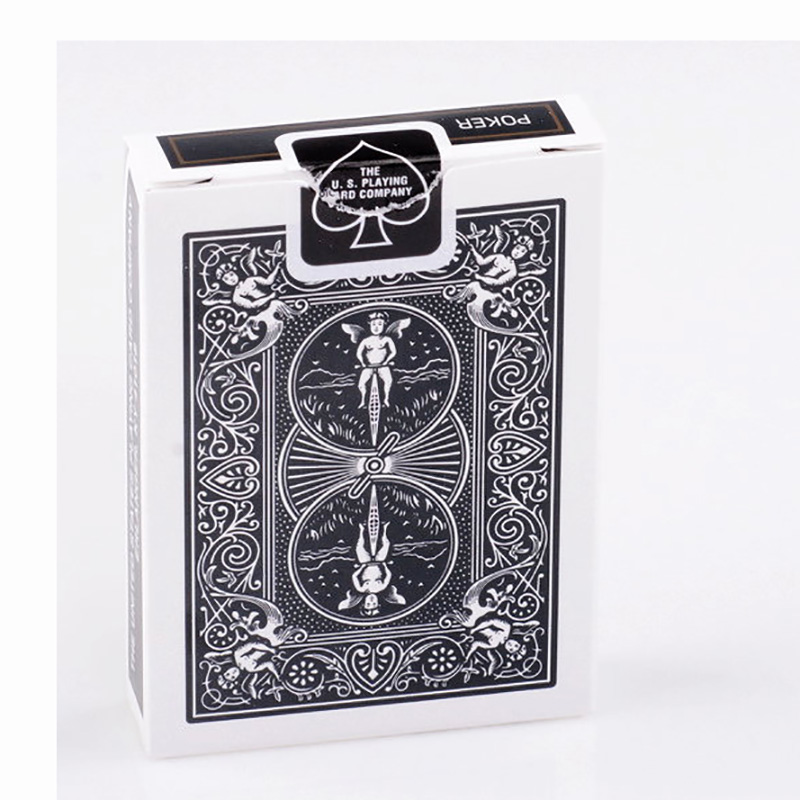 Bicycle Classic BLACK Playing Cards Magic Category
