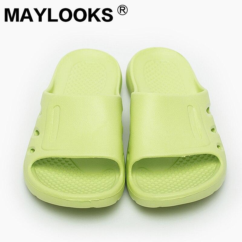 Al Casual 8843 Casa Por Azul Para Zapatillas Verano Mayor De Eva M 2018 Jalea Baño Damas rosado Cielo Slides Plana Interior verde Mujeres Zapatos Playa dRCwvxdtq