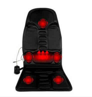 Multi-function General Household Car Massager Chair Cushion The Back Of The Neck Massage Waist Heating Car Cushion