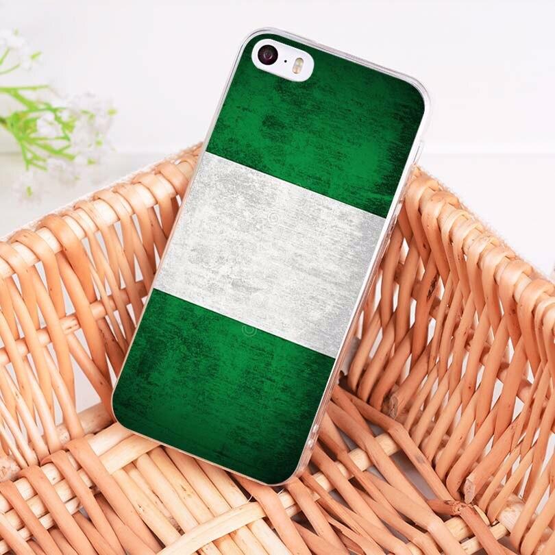 Maiyaca Национальный флаг nigeria_flag panama_flag кожи тонкий ПК cell чехол для iPhone 8 7 6 6 S Plus X 10 5 5S SE 5C 4 4S Coque В виде ракушки