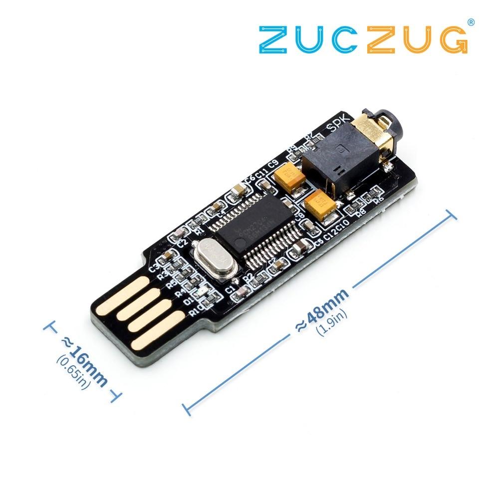 Mini carte son USB PCM2704 carte son DAC lecteur gratuit pour PC portableMini carte son USB PCM2704 carte son DAC lecteur gratuit pour PC portable