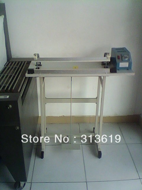 SF-F500 food packaging machine sealing machine pedal sealing machine plastic bag sealing machine