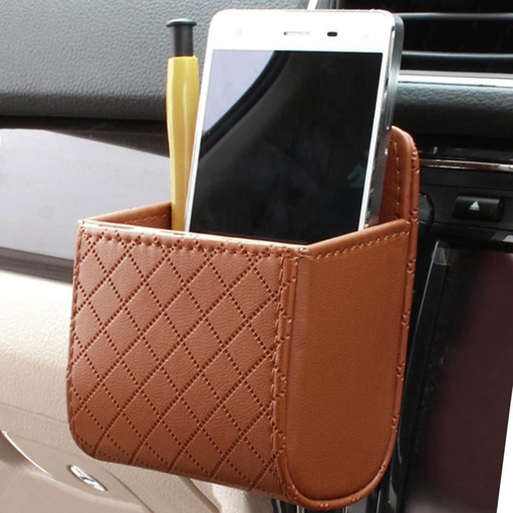 Case Pouch Pocket-Organizer Tidy-Storage-Box Coin-Bag Hanging-Holder Automobile-Accessories