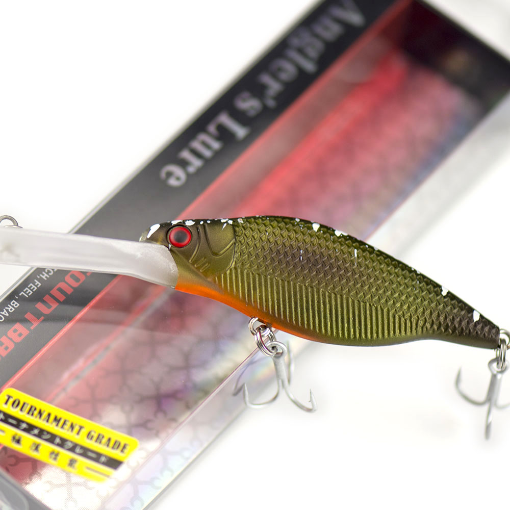 66mm 9.2g Countbass Deep Crank Bait Wobbler Lures for Fishing, Chatterbait Jerk baits Shad Crank Minnow Angler's Lure-1