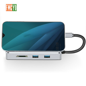 Image 5 - Laptop docking station All in One USB C to HDMI Card Reader  PD Adapter for MacBookType C HUB Docking Station