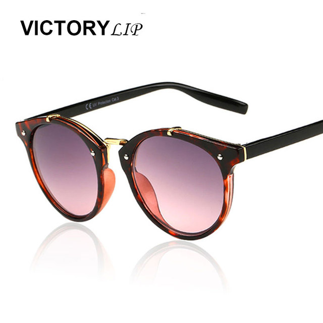 08099904e323 VictoryLip Brazil Hot Round Sunglasses Cute Small Size Shades Men Women  Brand Designer Style Circle Cheap Hotsale Sun Glasses