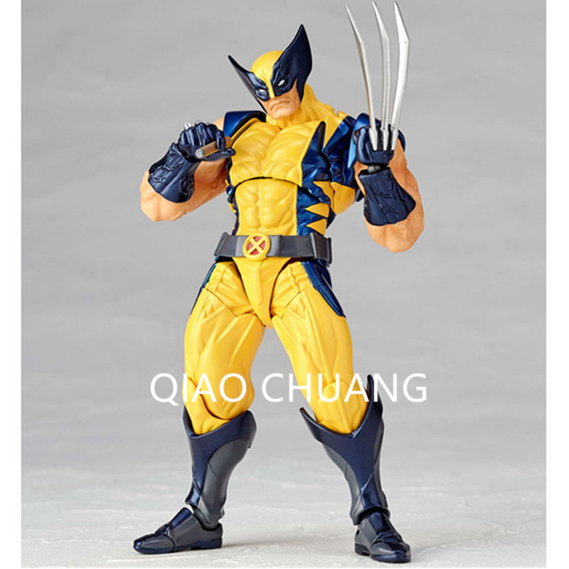 Cartoon Avengers:Infinity War Superhero James Howlett Wolverine Logan X Men PVC Action Figure Collection Model Toy G234-in Action & Toy Figures from Toys ...