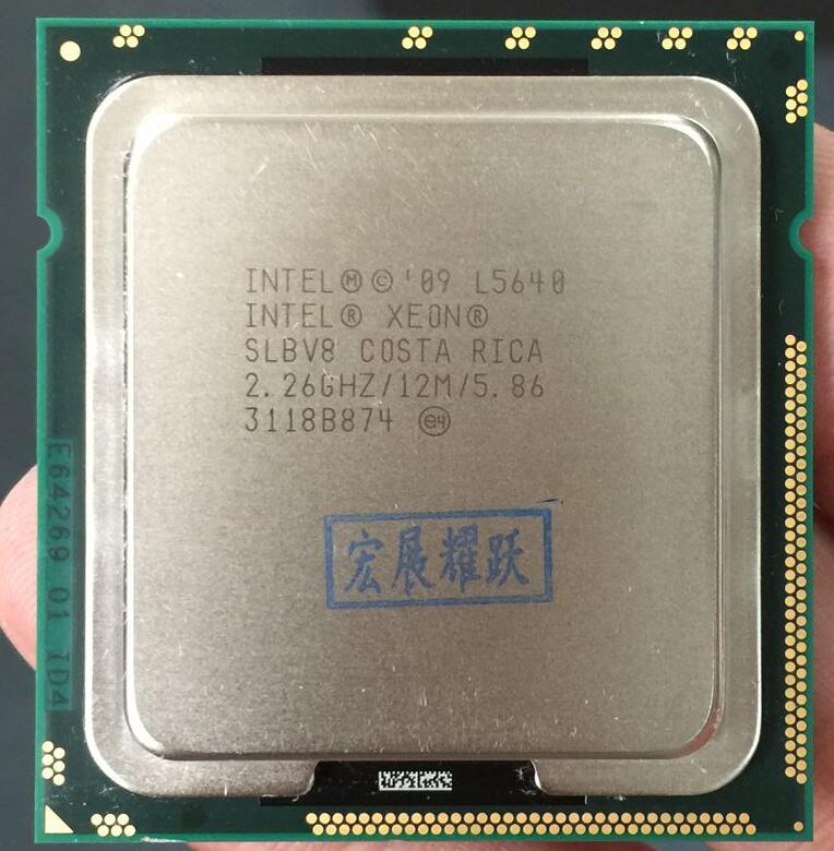 PC Computer Intel Xeon Processor L5640 (12M Cache, 2.26 GHz, 5.86 GT/s Intel QPI) LGA1366 Desktop CPU