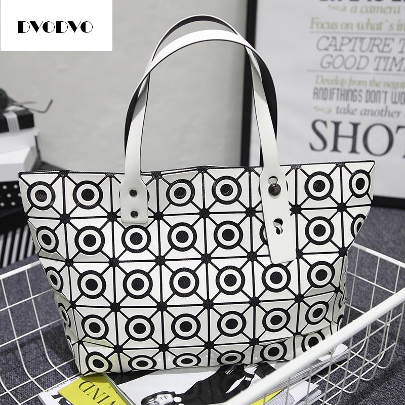 DVODVO Woman New trend Bao Bao Bag Plaid Tote Bags Handbags Women Famous Brands Shoulder Bag Diamond Circle Handbag Bolsa Female 2017 fashion tote laser bag women baobao hand bags summer geometric bao bao handbag ladies famous brands shoulder bag big