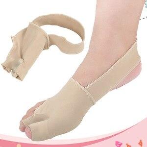 Image 4 - 1 paar S/L SEBS Big Toe Bunion Splint Corrector Foot Pain Relief Hallux Valgus für beide füße therapie Einfach zu tragen