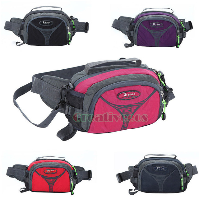 New Unisex Nylon Travel Messenger Shoulder Sling Chest Handbag Hip Bum Belt Fanny Pack Waist Bag Pouch