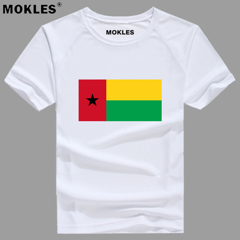 GUINEA BISSAU t shirt diy free custom name number gnb t-shirt nation flag country gw republic guinee college print photo clothes