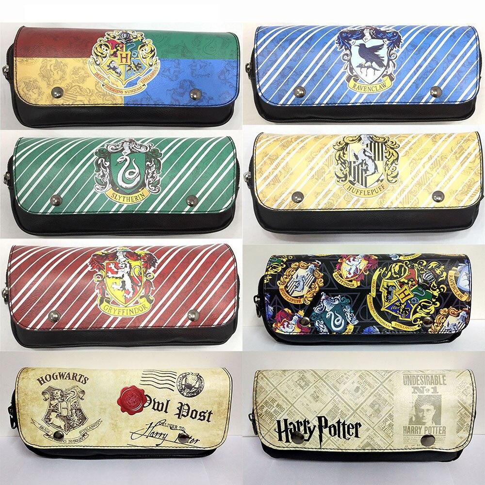 Herrenbekleidung & Zubehör Mode Studenten Stift Bleistift Fällen Anime Film Harry Potter Schreibwaren Veranstalter Taschen Leder Nylon Geldbörse Make Up Tasche Pencilcase Aromatischer Charakter Und Angenehmer Geschmack