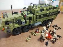 XINGBAO XB06014 армейская серия самоблокирующиеся кирпичи военные строительные блоки Скорпион тяжелый грузовик спецназ Солдат кирпичи D24
