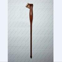 Rosewood English Copperplate Script Antique Drop Oblique Holder Calligraphy Dip Pen Holder With Adjustable Flange