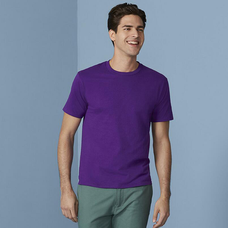 2019 zomer Hot Koop Katoenen t-shirt heren casual korte mouw O-hals - Herenkleding - Foto 6