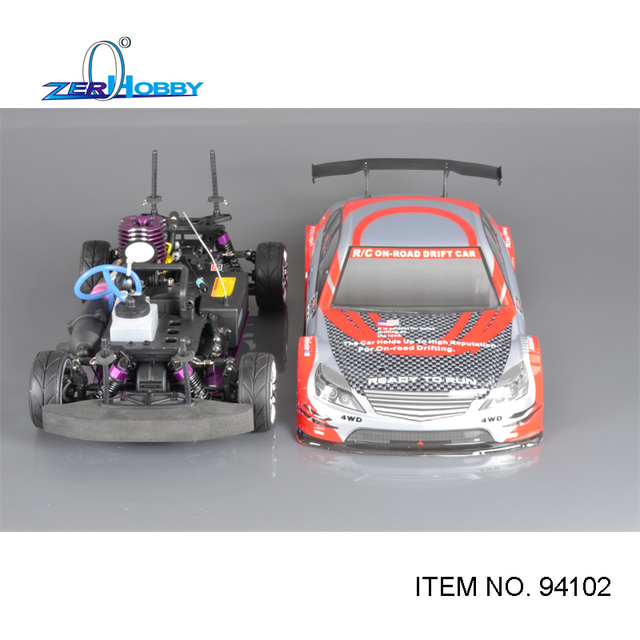 Hsp 1/10 Scale 4Wd Nitro Drift Sport Rally Racing 18Cxp Engine Double Speed Car