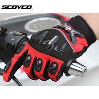 2016 new SCOYCO MX47 motorcycle gloves breathable bicycle cycling biker motorbike protection glove motorcyclist mittens