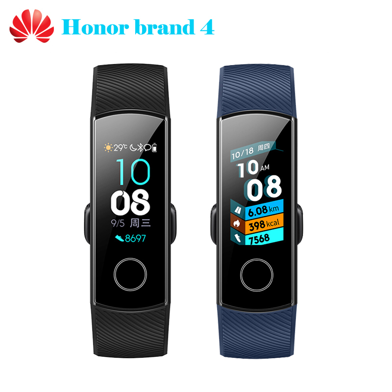 Huawei Honor Band 4 Smart Wristband with 0 95 inch Full Color AMOLED Screen 5ATM Waterproof