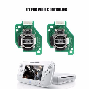 Image 1 - Left & Right Analog 3D Joystick Sticks Replacement for Nintendo for Wii U GamePad Controller