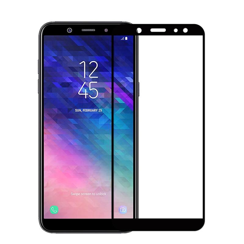 A6plus стекло для samsung a6 защита экрана закаленное стекло для samsung galaxy a6 plus a600f a605f армированная стеклянная пленка a 6