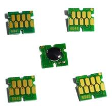 T6941-T6945 T6941 Cartridge Chip For Epson Surecolor T3000 T3070 T5070 T7070 T3200 T5200 T7200 T3270 T5270 T7270 Printer цена