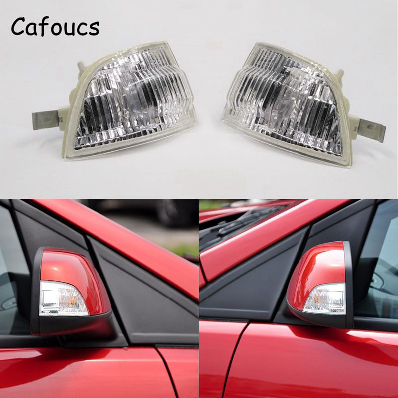 Cafoucs Car Rear View Mirror turn signal Light For Ford Focus C-MAX 2003-2013 car styling for mercedes benz a160 a180 a200 b160 b180 b200 w169 w245 rear view mirror turn signal lamp left right light