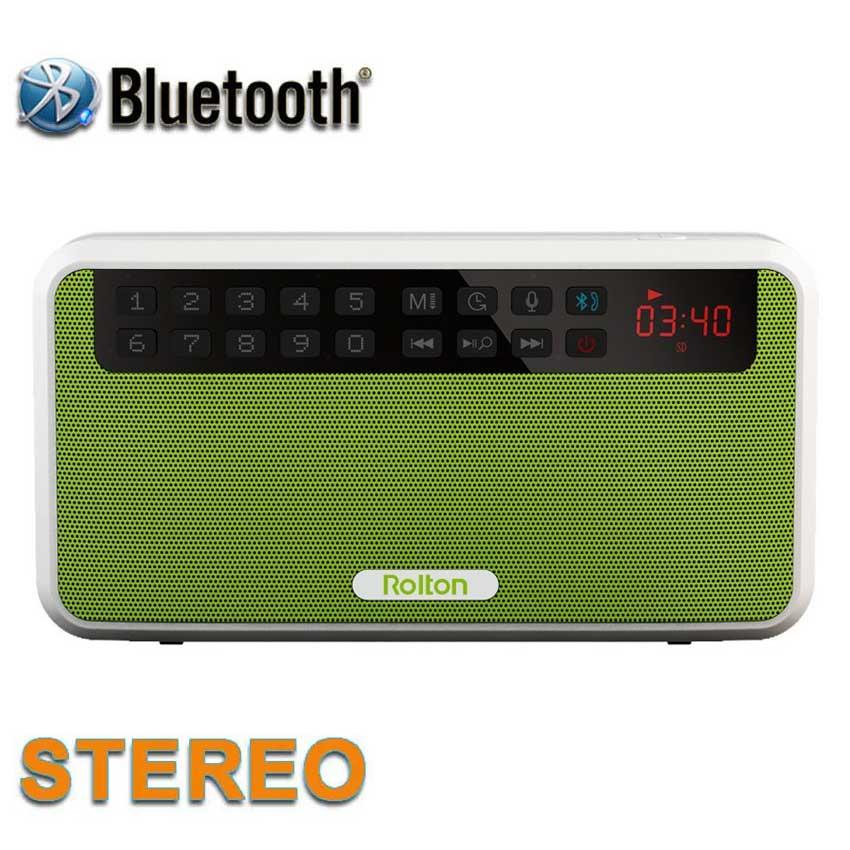 Rolton E500 Mini Bluetooth բարձրախոսի տուփի - Դյուրակիր աուդիո և վիդեո - Լուսանկար 2