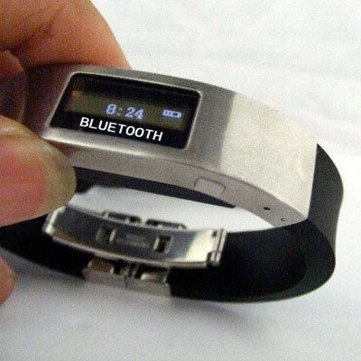 Free Shipping Promotion Bluetooth Bracelet with Vibration and LCD Display