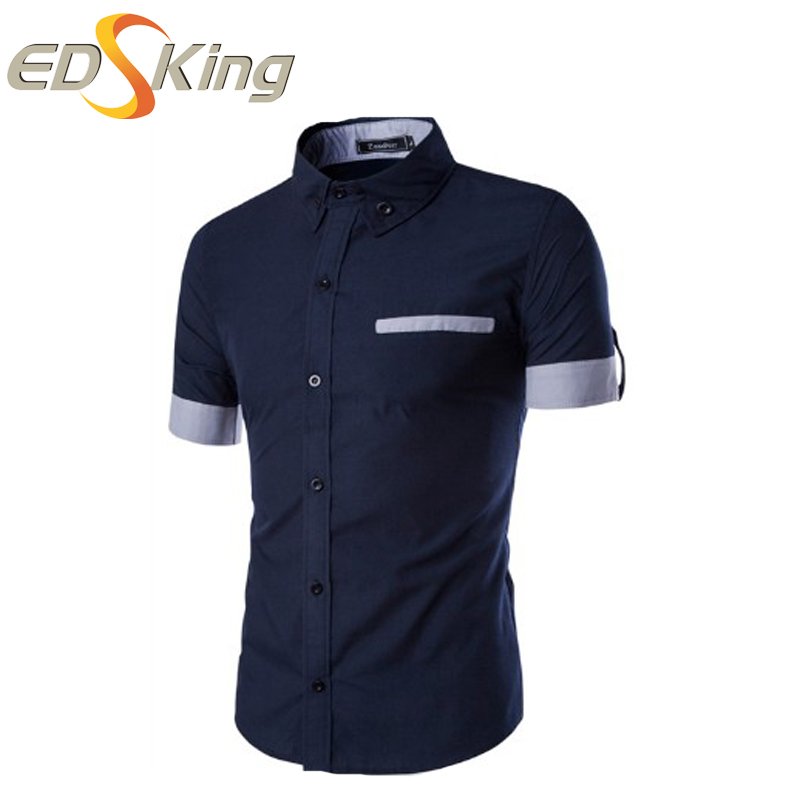 High Quality Navy Blue Dress Shirt-Buy Cheap Navy Blue Dress Shirt ...