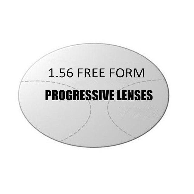 1.56 Интерьер Прогрессивная мульти-фокус ХК CR-39 способностей линзы по рецепту линзы для среднего старый год люди видят вблизи и далеко