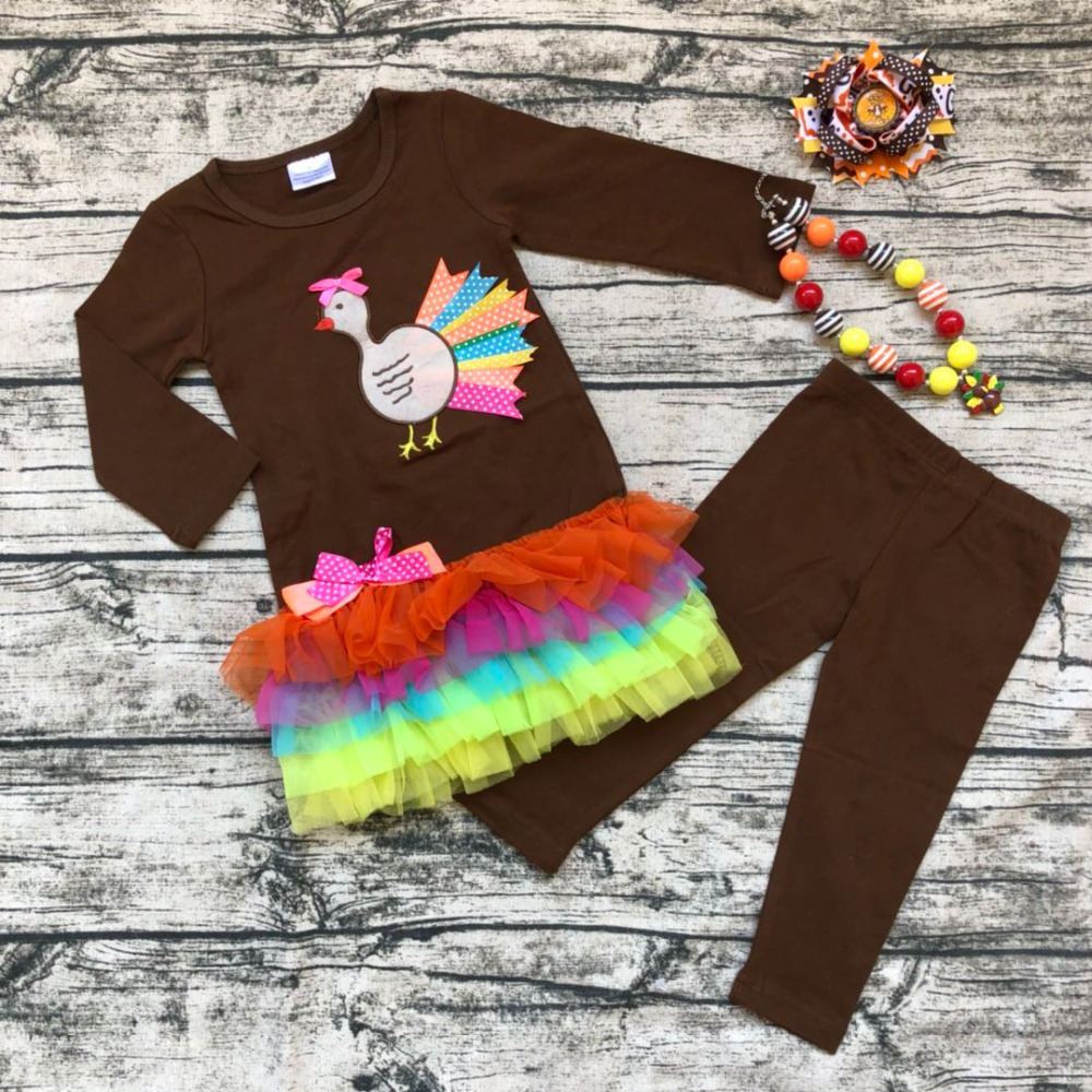 Baby, Outfits, Thanksgiving, Girls, New, Turkey
