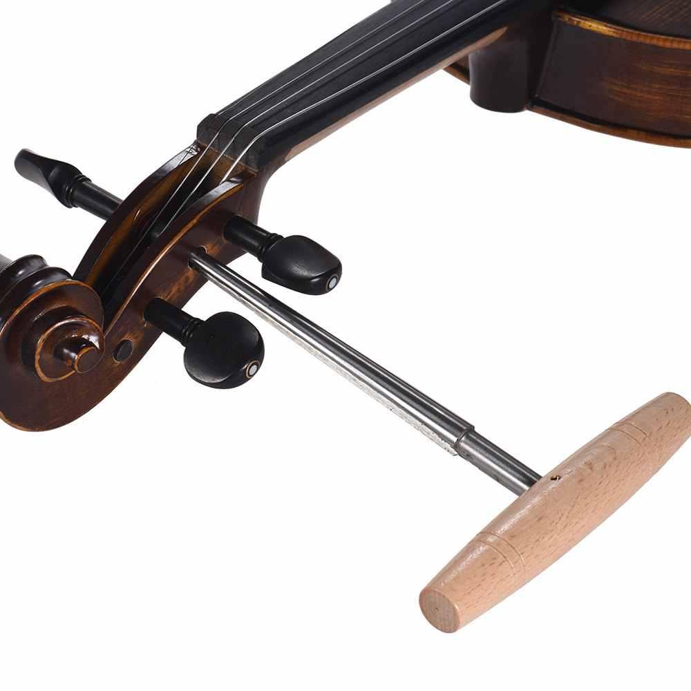 الغيتار جسر دبوس حفرة مخرطة الكمان Peg Hole مخرطة 1:30 تفتق الكرتون الصلب مع الخشب مقبض Luthier أداة