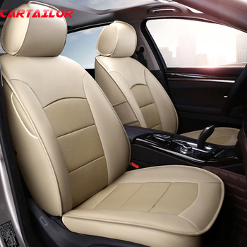 CARTAILOR Car Seat Cover fit for Toyota Prado Cars Right Hands Drive Seat Covers & Supports Cowhide Auto Accessories Seats Sets