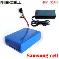 1000W 48V 30AH Electric Bicycle Battery 48V Lithium Battery 48V 30AH E bike battery with charger and bms